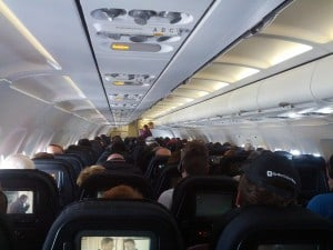 Air NZ flight
