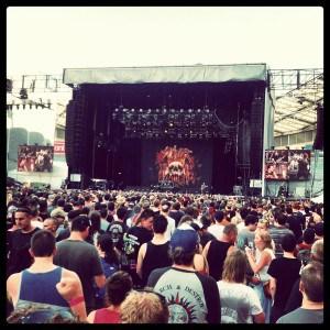 Slayer - Soundwave 2013