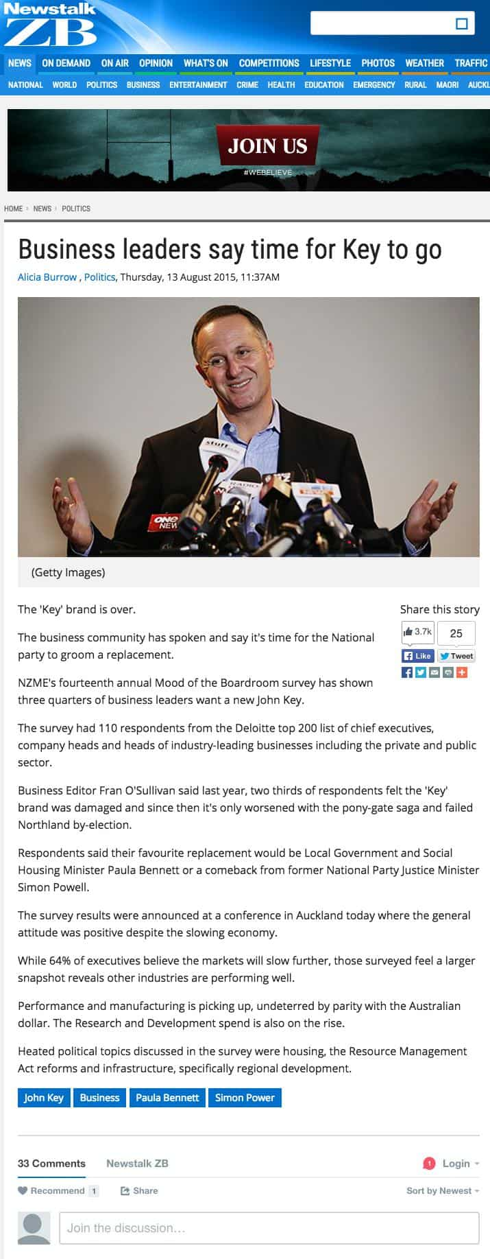 Newstalk ZB John Key news article v1