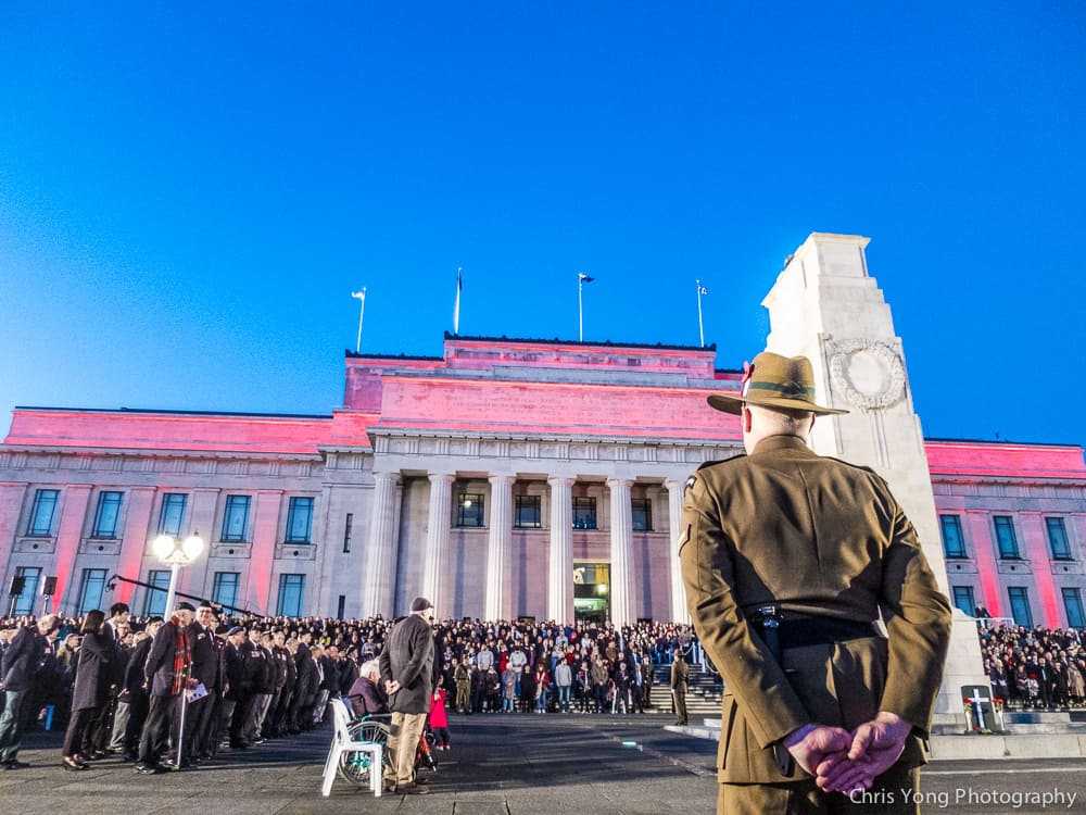 ANZAC 2017 dawn service at Auckland Museum