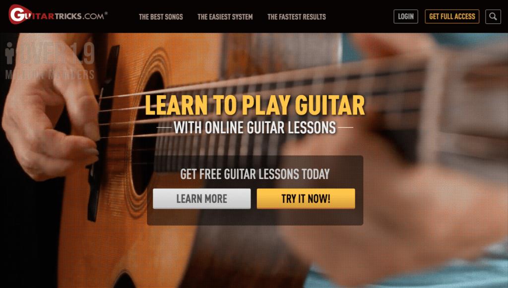 Guitar Tricks - Online guitar lessons