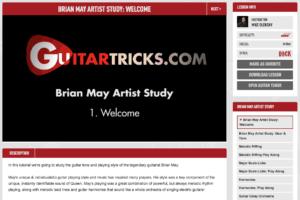Brian May Artist Study